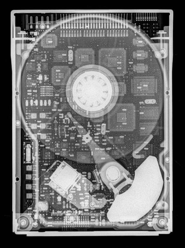 Ренгентовский снимок жесткого диска